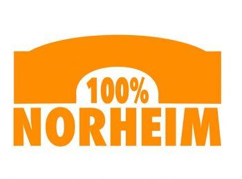 """Logoentwurf """"100% Norheim"""""""